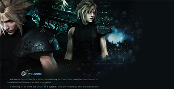 Cloud Strife fanlisting