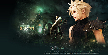 Final Fantasy VII: Cloud Strife fanlisting